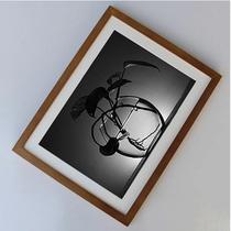 2开装裱画框水彩素描创意4K8K16KA1A2A3实木相框A4挂墙