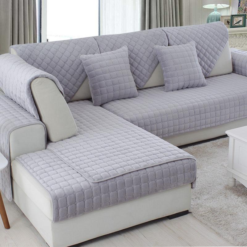 纯色欧式沙发垫