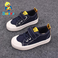 Barbie duck shoes 2019 spring new boys and children canvas shoes girls casual shoes shoes in the big children's shoes