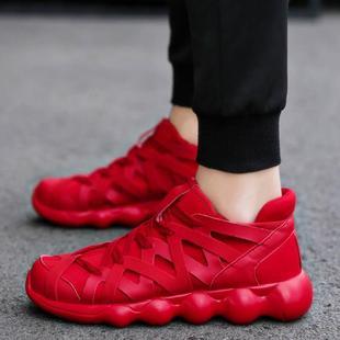 品牌轩尧耐克泰夏天男式运动鞋 46网布透气鞋 45加大码 休闲鞋 47特大