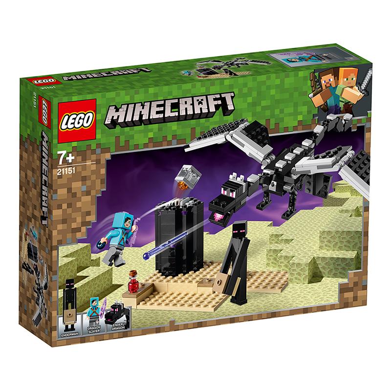 乐高我的世界 决战末影龙21151 LEGO玩具积木