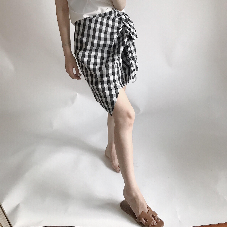 抽褶包臀裙