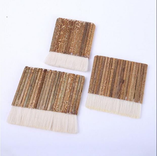 长命牌毛笔刷/油漆刷/16支20支24支组成的排笔刷/羊毛排笔/羊毛刷