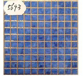仿马赛克瓷砖300X300金线七彩卫生间地面背景墙浴室