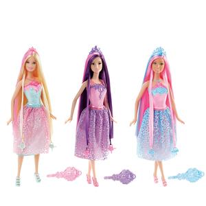 芭比娃娃Barbie芭比长发娃娃女孩礼物 生日礼物 玩具女孩