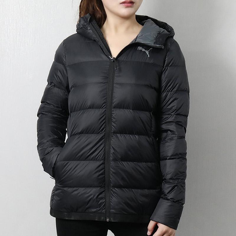 PUMA彪马女装18冬季新款外套运动服保暖防风短款羽绒服851676