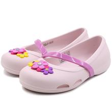 运动凉鞋 2019春季新款 205529 莉娜女孩奇趣平底鞋 Crocs卡骆驰童鞋