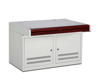 控制台 二联监控台 冷轧钢板 1.5MM 台面是 加厚型 双联操作台