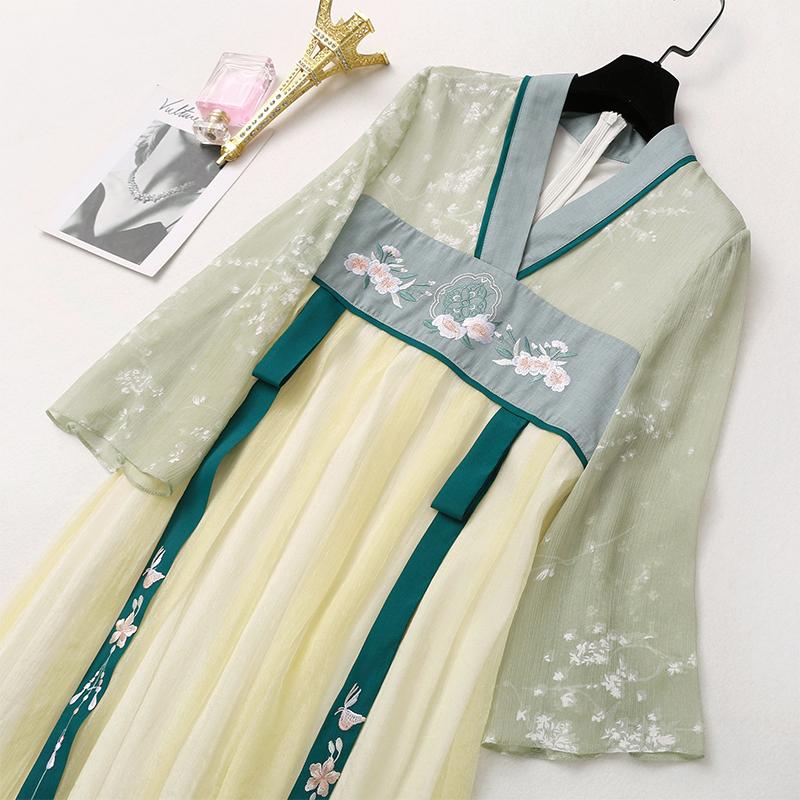 NUMENBUTTON灵扣h90593 3旗袍