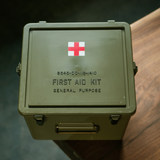 US military version of the medical first aid kit imported retro military sealed moisture box home storage off-road outdoor rescue