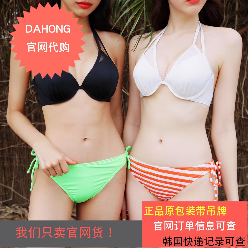 韩国代购时尚起义可爱系带比基尼短裤2018夏季新款泳裤729543