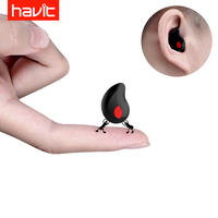 Havit/海威特 I3S Bluetooth headset invisible mini ultra small sports wireless in-ear plug driving small head mounted earphones vivo apple single ear oppo mobile phone universal men and women miniature