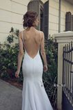 Sexy big backless white suspender dress dress long skirt Maldives seaside holiday beach skirt light wedding dress