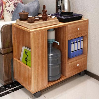 沙发边柜边几 小茶几现代简约可移动沙发边桌储物柜 客厅纠纳柜子