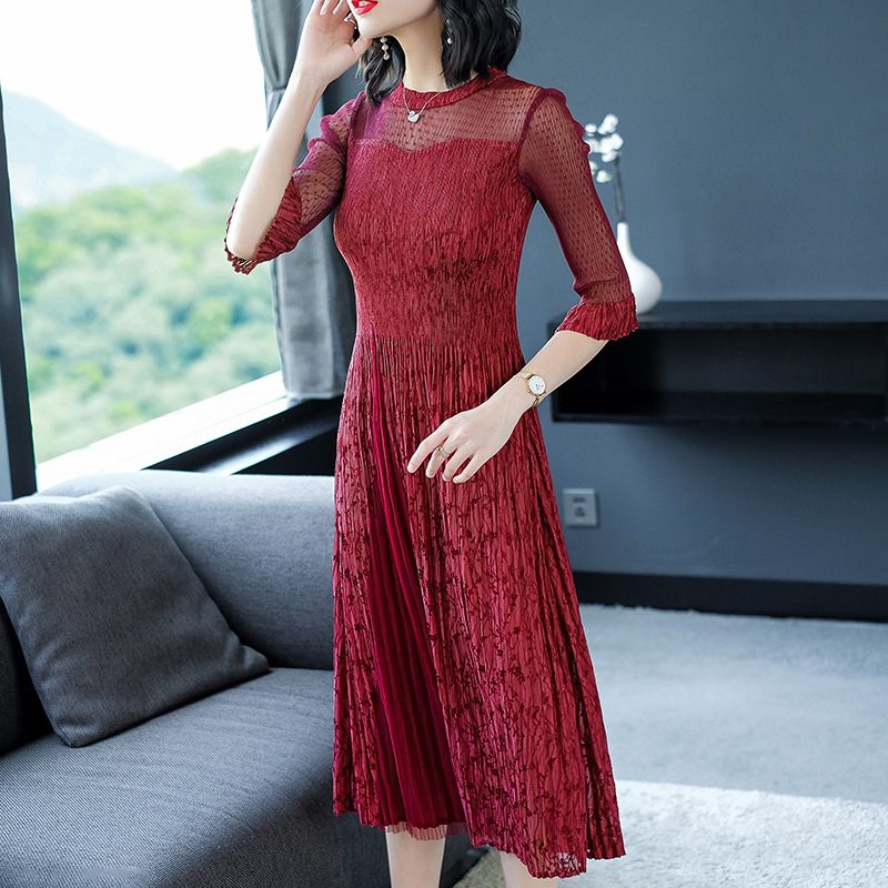 Mother-in-law wedding dress mother dress noble wedding dress young dress to participate in the wedding dress