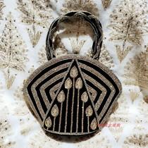 (大周周)印度纯手工刺绣 手工包 手提包 时尚包 民族特色