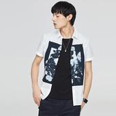衬衫 GXG男装 时髦潮流休闲文雅短袖 62223269