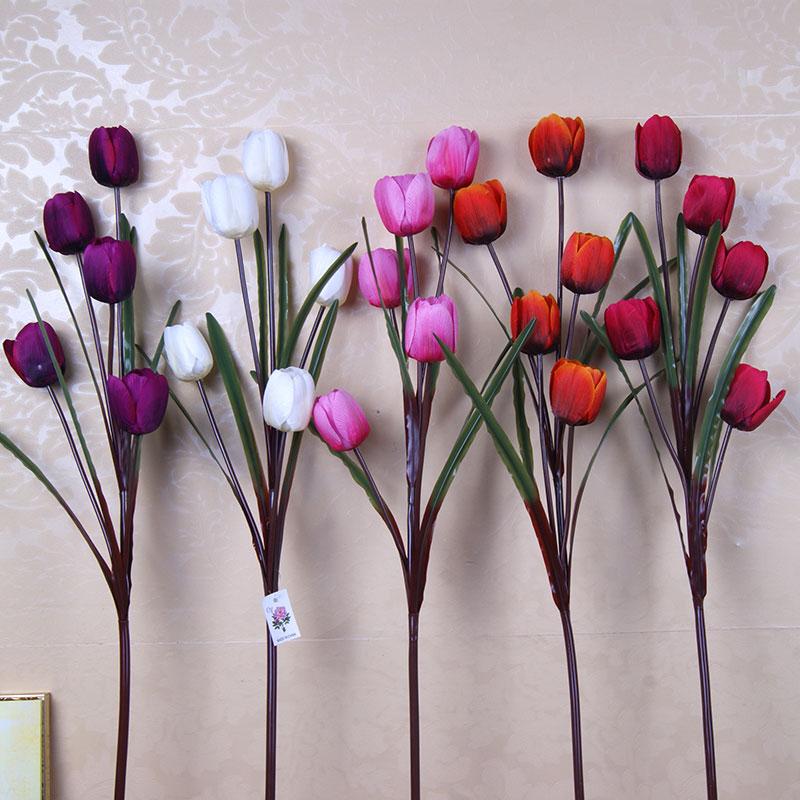 塑料假花仿真花装饰客厅落地
