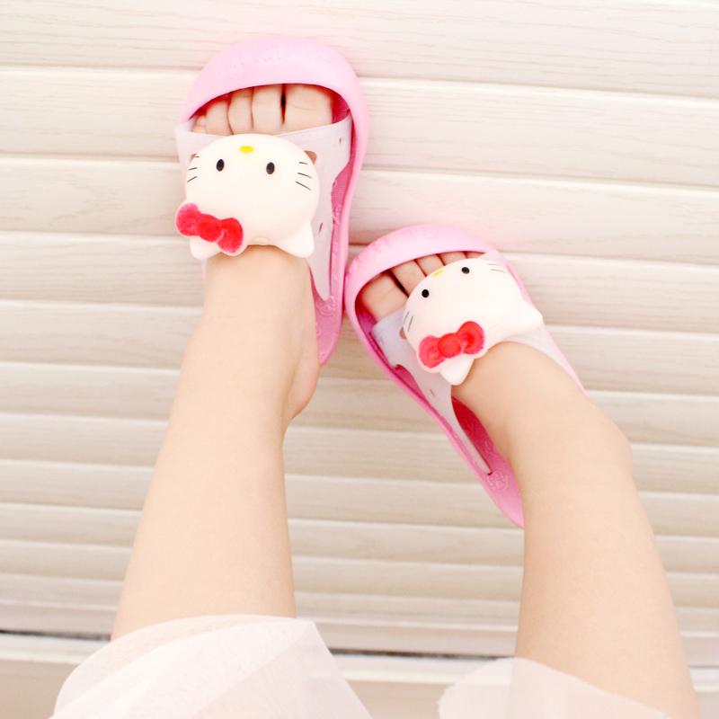 儿童凉拖鞋夏季新款男女童可爱居家防滑软底居家防滑小童宝宝拖鞋