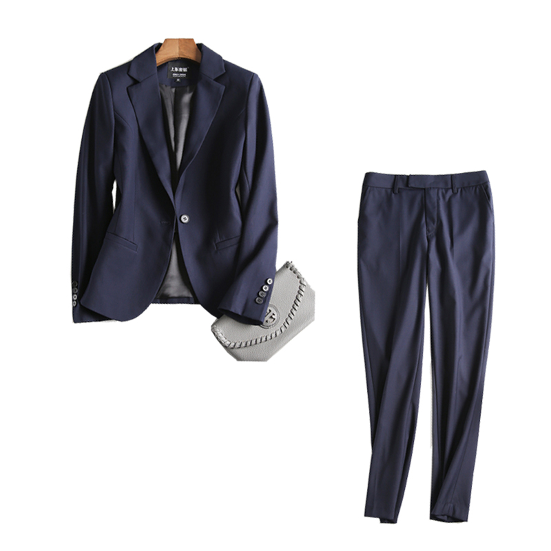 Suit female jacket British Slim one buckle casual small suit suit temperament office