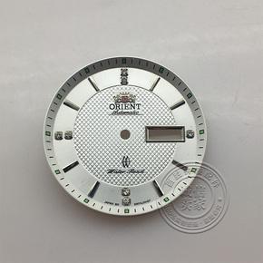 双狮表盘字面可装46941 46943机芯钻刻度直径34MM手表钟表配件