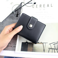 Multi-function card package for men and women Korean card sets multi-card business card holder ultra-thin cute card package can put a driver's license