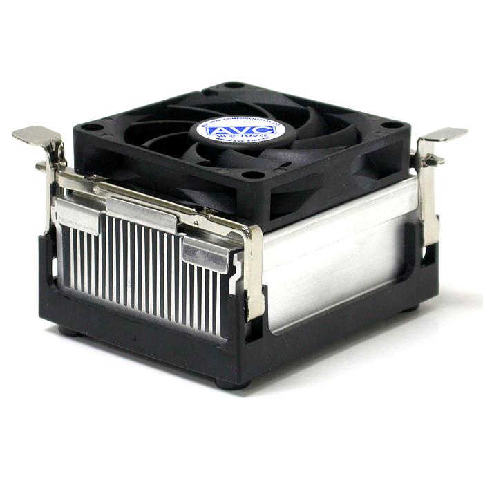 全新478针风扇 台式奔4赛扬CPU散热器铝片 支持845 848 865 915等