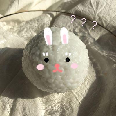 酥酥纯白米粒 北北特制asmr超级大声的slime 蛋蛋史莱姆米粒泥