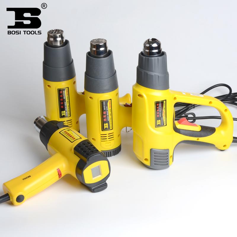 波斯可调温数显热风枪贴膜烤枪热缩枪薄膜烘枪工业热风筒塑焊接机