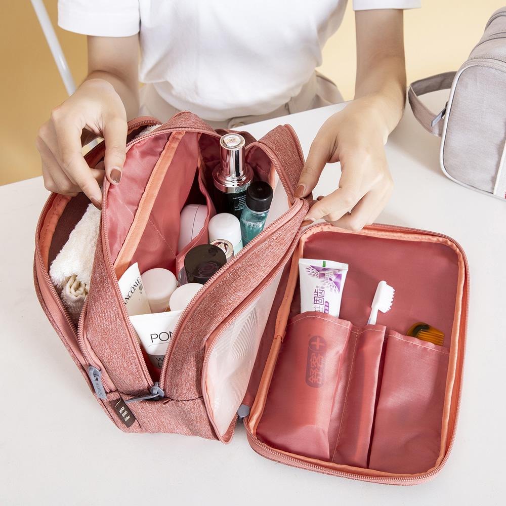大容量防水洗漱包多功能便携分隔化妆包旅游出差大小号随身收纳包图片