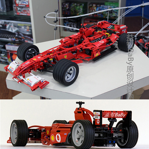 乐高积木方程式赛车