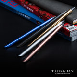 Eternal pen creative pen No need to add ink Long-term use Net red black technology Metal pen alloy