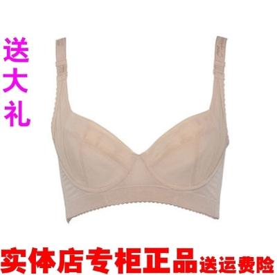 莱特妮丝D22 B22光面短文胸调整型塑身美体内衣 聚拢 侧收