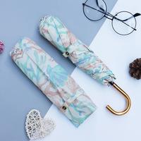 日本WPC防晒伞超轻折叠防紫外线遮阳伞太阳晴雨伞DS043-019美人鱼