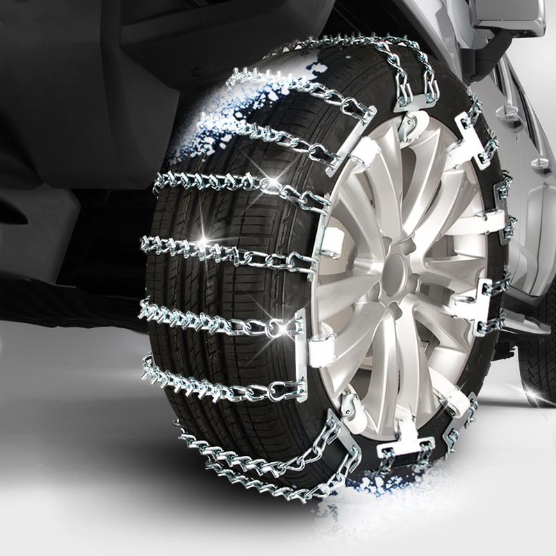 汽车轮胎防滑链条铁链小轿车越野车suv通用型冬季面包车雪地链子