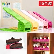门口鞋架简易家用省空间经济型防尘多层小鞋架子宿舍组装鞋柜实木