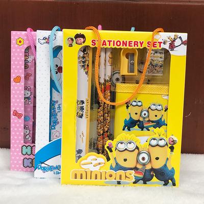 六一儿童节礼物创意小学生文具套装礼盒福袋幼儿园奖品学习用品