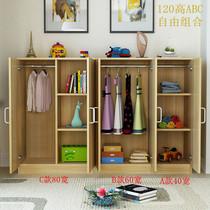 易組北歐大人學生收納柜經濟型公寓衣柜房間卡通女宿床尾寢室家庭