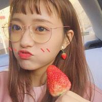 韩版女潮复古原宿风ulzzang网红款近视眼镜框架女有度数素颜圆脸