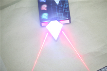Safety Warning for Laser Taillight Charging Parallel Line of Bicycle Lamp