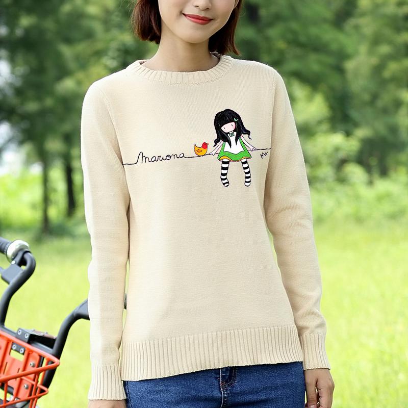 可爱纯棉毛衫
