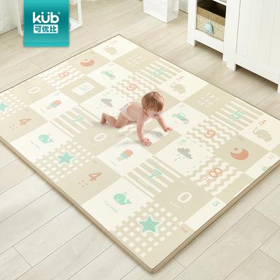 可优比宝宝爬行垫婴儿爬爬垫儿童地垫加厚2CM游戏垫室内家用