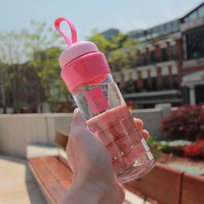 正品优之小茶杯女士带过滤网杯柠檬小水杯学生儿童便携塑料随手杯