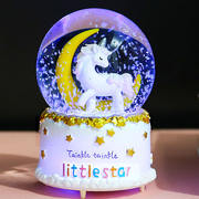 Crystal ball music box birthday gift girl luminous music box children friends Tanabata Valentine's Day creative gifts
