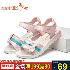 皮凉鞋女童鞋新款