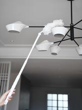 日本除尘掸子不易掉毛家用清洁工具空调清洗扫尘刷除灰尘可伸缩