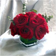 桌花鲜花会议桌花小桌花商务用花餐桌婚礼签到台花演讲台花讲台花