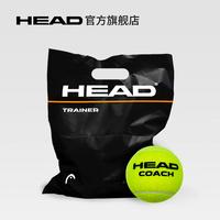 HEAD海德无压力训练网球袋装网球练习训练网球10粒包邮