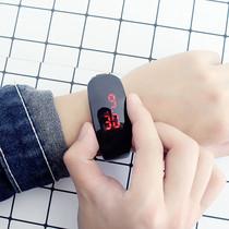 潮流智能手表韩版简约心率雪压多功能运动手环男女学生电子表防水