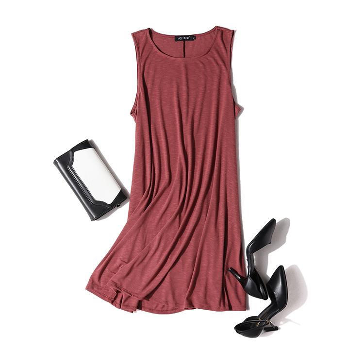 新款多色连衣裙